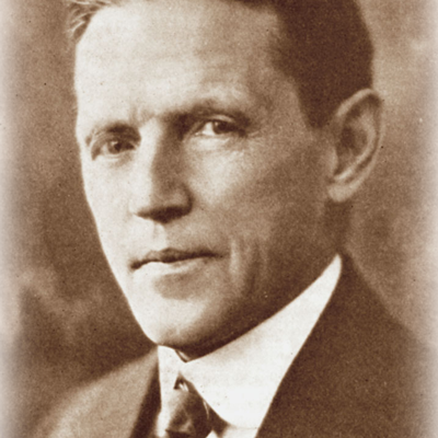 gros plan du Dr W.H. Bates